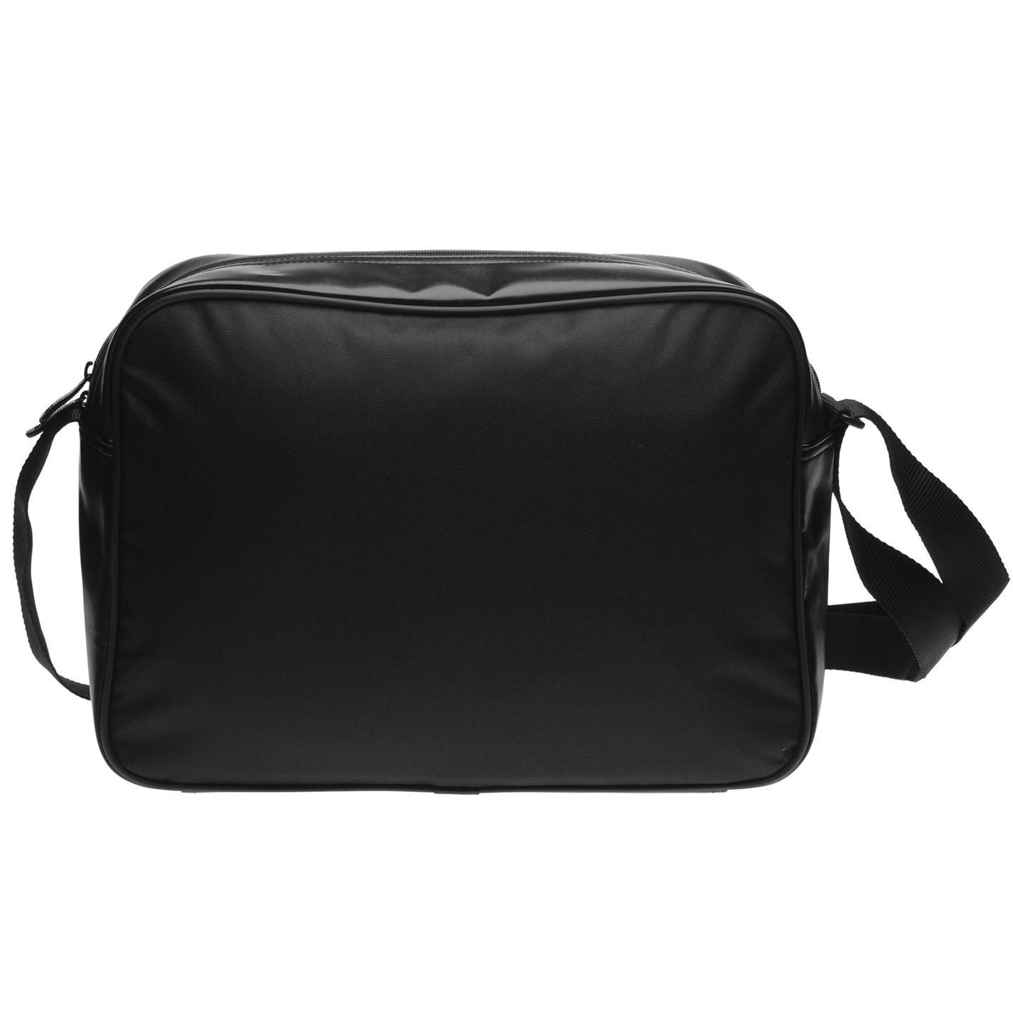 55d9a4aa10 Puma Flower Campus Reporter Bag Black Messenger Flight Bag Holdall W 46 x  H 30 x D 10 (cm)  Amazon.co.uk  Luggage