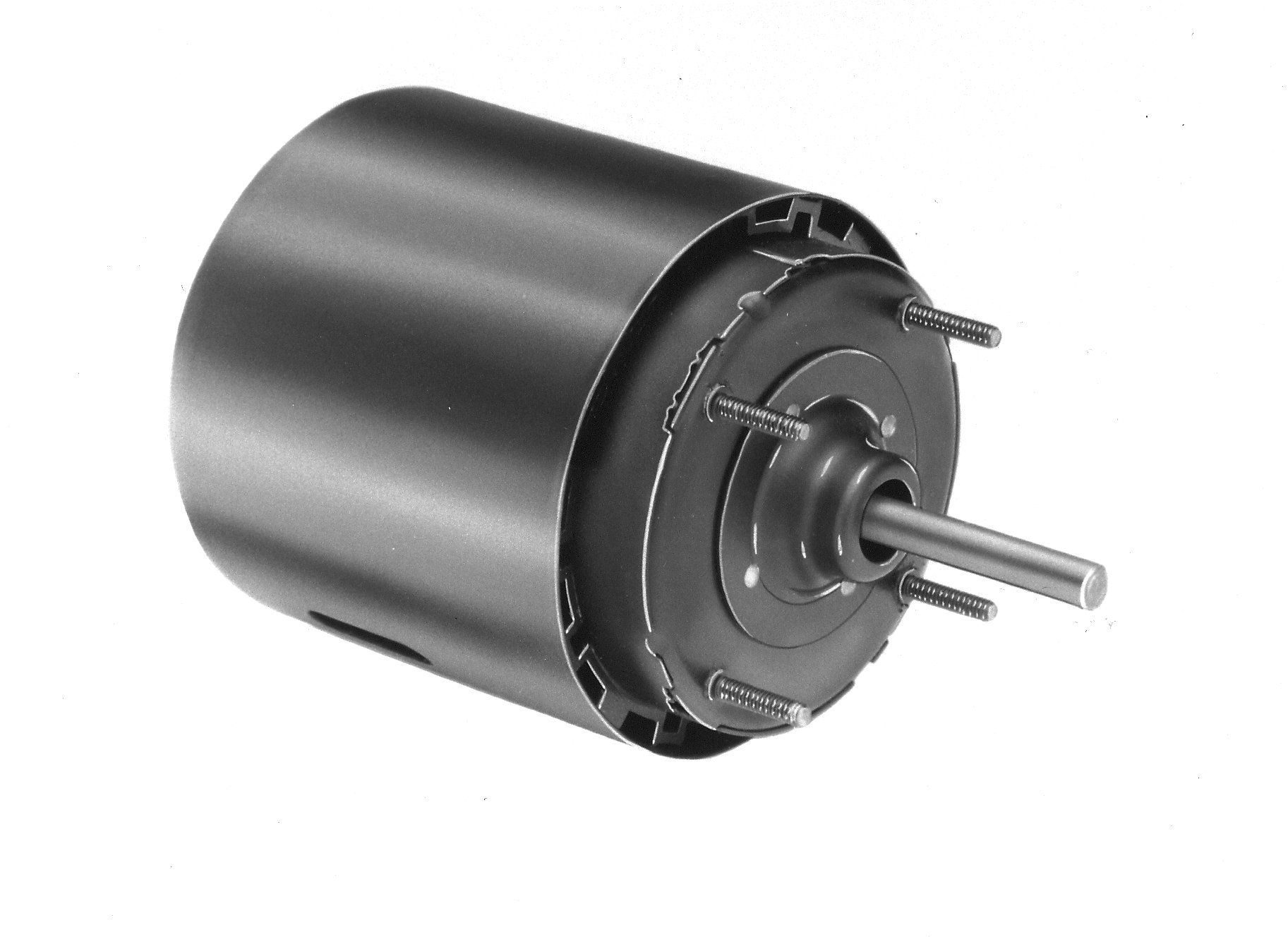 Fasco D334 3.3'' Frame Totally Enclosed Shaded Pole Self Cooled Motor with Ball Bearing, 1/15HP, 1500rpm, 230V, 60Hz, 1.4 amps