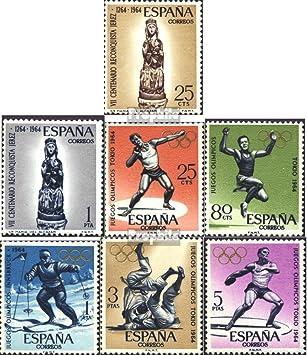 Prophila Collection España Michel.-No..: 1504-1505,1506-1510 (Completa.edición.) 1964 Sellos Especiales (Sellos para los coleccionistas) Juegos Olímpicos: Amazon.es: Juguetes y juegos