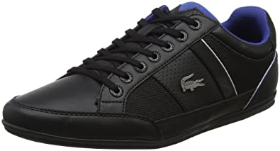 52552e0d29 Lacoste Chaymon 218 1 CAM, Baskets Hommes, Noir (Blk/DK Blu 1z2), 40 ...