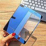 Vorne & hinten Spiegel Effekt ausgeglichenes Glas Screen Protector für iPhone 7/7 Plus