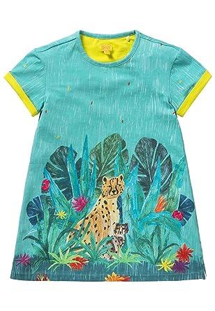 Robe Fille Tatou Imprime Jungle Amazon Fr Vetements Et Accessoires