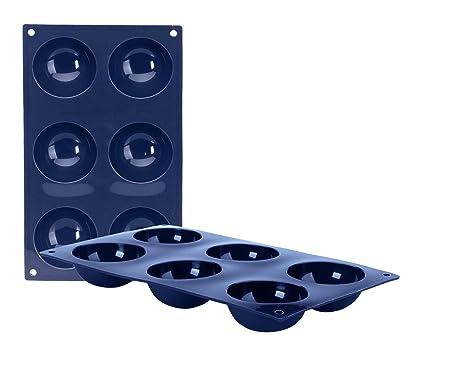IBILI 870033 - Molde 6 Cav.Semiesferas Blueberry
