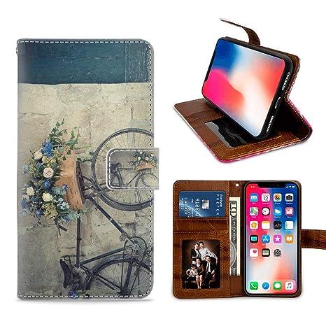 Iphone X 10 Xs Vintage Wallpaper Wallet Case Mit