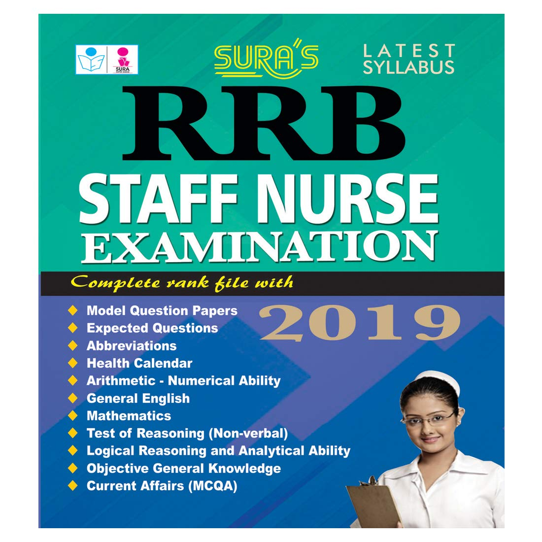 Buy RRB Staff Nurse Examination Book Online at Low Prices in