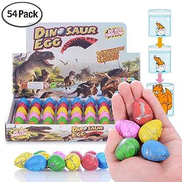 Amazon.com: Juguete de dinosaurio Xosoy, 54 huevos de ...