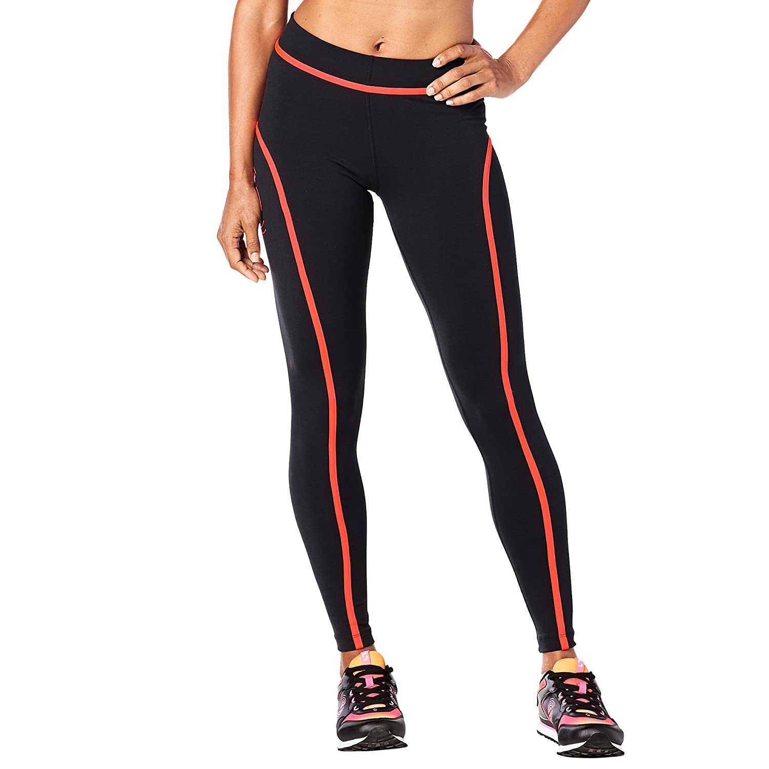 Zumba Fitness Strong By Piped Leggings, Pantaloni Donne Donna Z1S00048