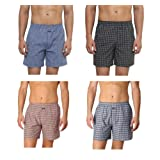 Pack of 4 Boxer Shorts For Men