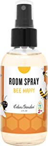 Edens Garden Bee Happy Aromatherapy Room Spray, All Natural & Made with Essential Oils (Great Home Air Freshener - Try Using On Pillows & Linens for Sleep), 4 oz