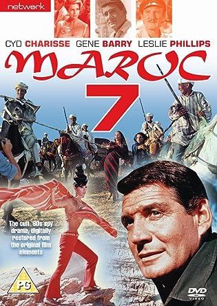 Maroc 7 Maroc 7 DVD 1966 Amazoncouk Gene Barry Elsa Martinelli
