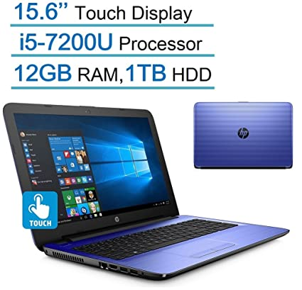 efae1a898 Amazon.com  HP Pavilion 15.6   Touchscreen HD SVA (1366x768) Laptop ...