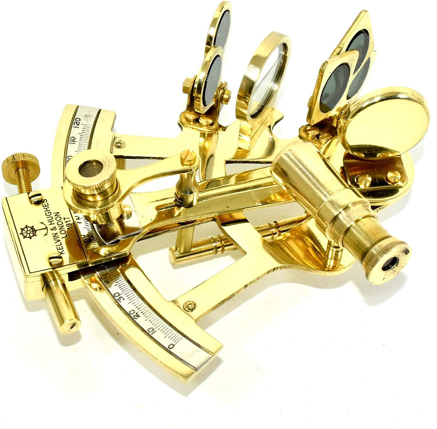 GIFT Brass Sextant Astrolabe Maritime Collectible NEW  Designer MODEL SEXTANT