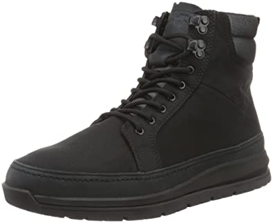 Mens Loadha Uh RCT Blk Boat Shoes Boxfresh 24pHKcAAmM