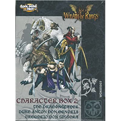 Wrath of Kings: House Goritsi: Character Specialist Box: Toys & Games