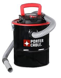 Porter-Cable Wet/Dry Ash Vacuum, 4 Gallon, 4 Horsepower