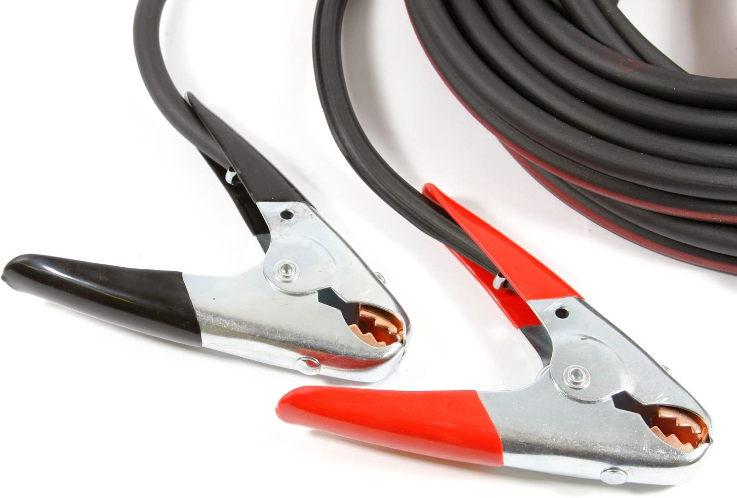 20-Feet Forney 52872 Twin Cable Battery Jumper Cables Heavy Duty Number 4