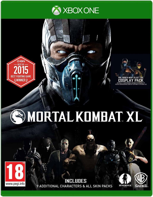 Amazon Com Mortal Kombat Xl Xbox One Video Games