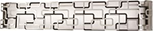 George Kovacs P1424-674-L Alecia's Tiers LED Bath, 48 Watt LED, Brushed Nickel & Bronze Patina