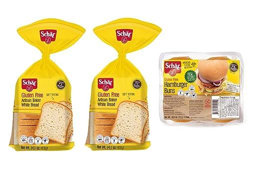 Schar Gluten Free Bread Variety Pack, 3 Count