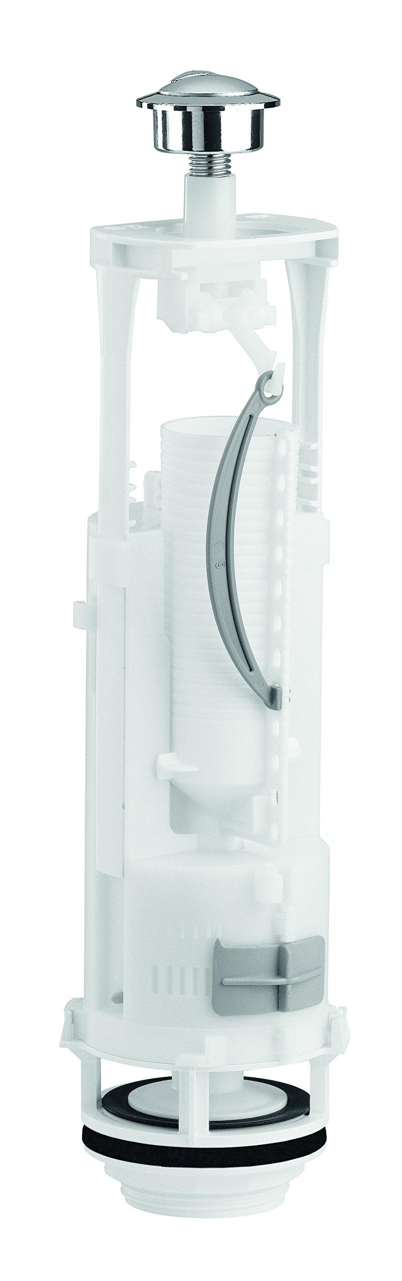 SIAMP Optima 49 Dual Flush Toilet Valve 32499910, White