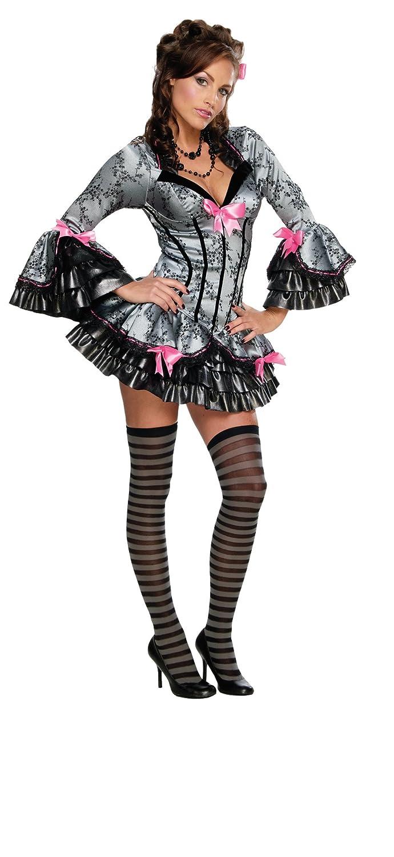 Rubies - Disfraz de French Kiss, color negro, talla S: Amazon.es ...
