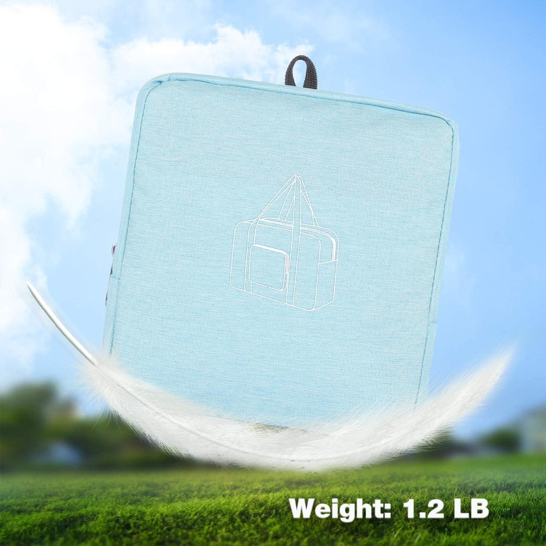 24 Foldable Duffle Bag 60L for Travel Gym Sports Lightweight Luggage Duffel By WANDF
