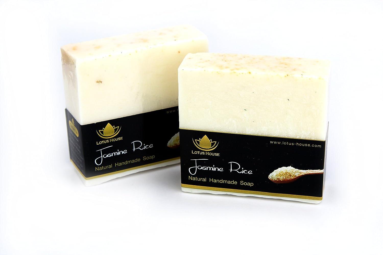 Lotus House Jasmine Rice Natural Handmade Soap (300g) / 3 Bars