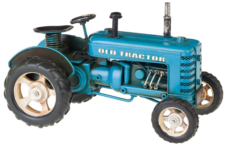 Modello trattore 26cm macchina nostalgia metallo en stile antico Aubaho