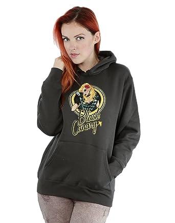 DC Comics Mujer Bombshells Black Canary Badge Capucha: Amazon.es: Ropa y accesorios