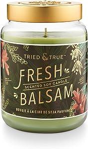 Tried & True Tried and True Fresh Balsam XLarge Jar, 22.2 oz. Candle, Multi-Color