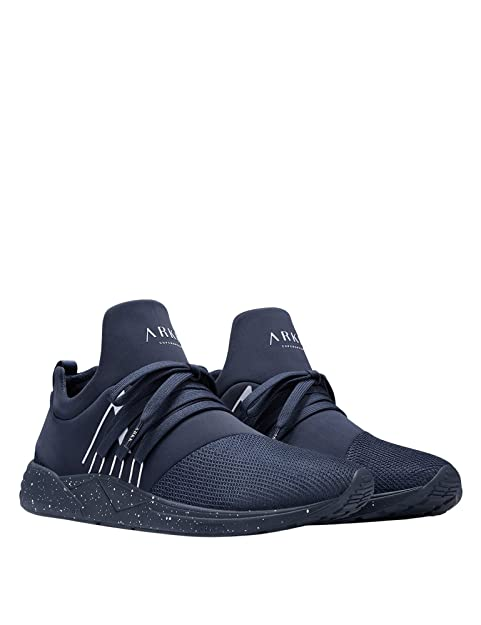 Raven Mesh S-E15 Navy White Spray - FOOTWEAR - Low-tops & sneakers ARKK Copenhagen aStsa7IuJ
