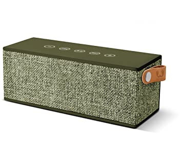 Fresh n Rebel Rockbox Brick - Altavoz Bluetooth Inalámbrico Portátil Verda