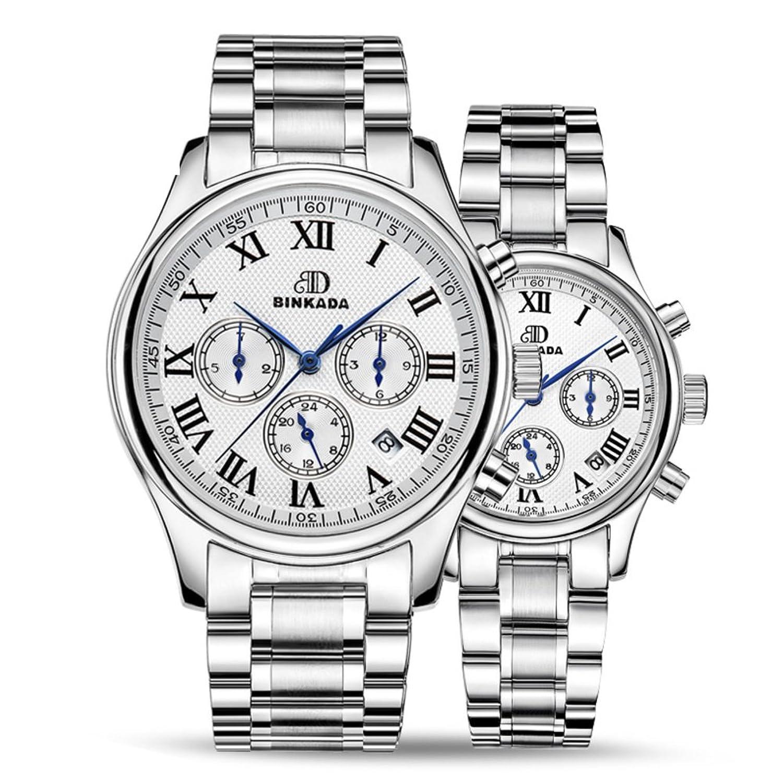 ステンレススチール防水時計/ Automatic Mechanical Watches /ビジネスカジュアルwatches-a B06XCQFJX4