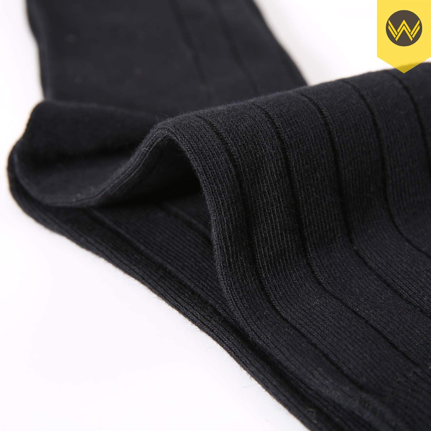 WANDER Mens Classic Dress Socks 6 Pairs for Office Work Lightweight Business Men 7-12//13-15
