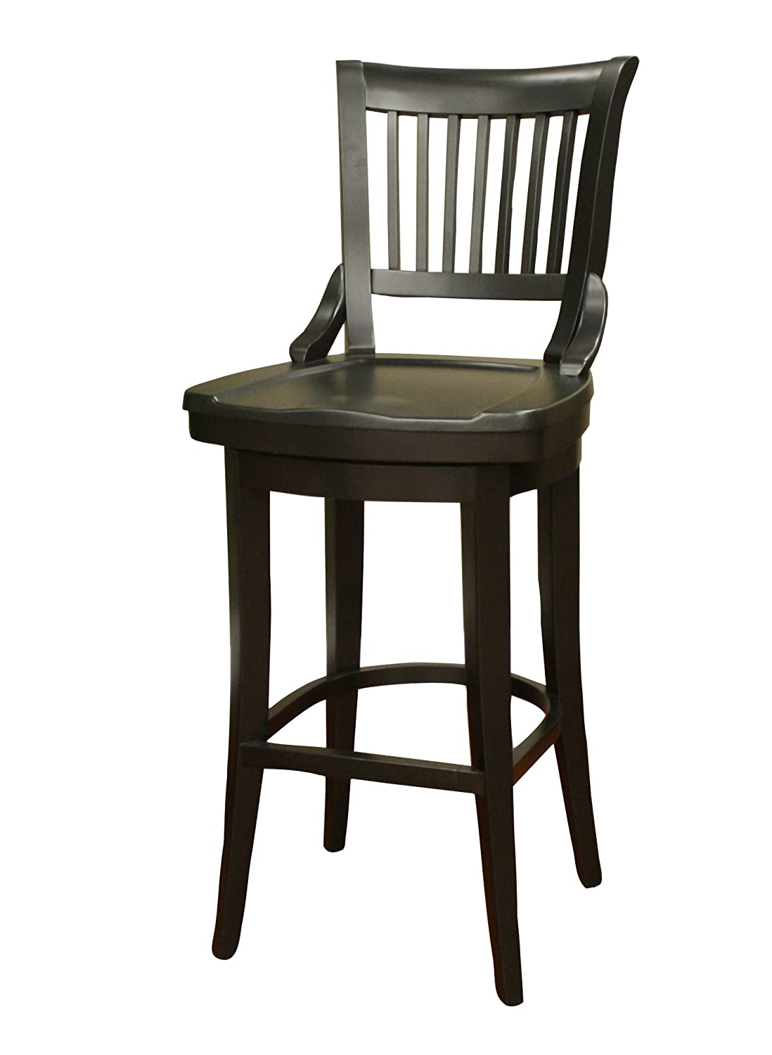 Amazoncom Ahb Liberty 34 In Swivel High Bar Stool Kitchen Dining