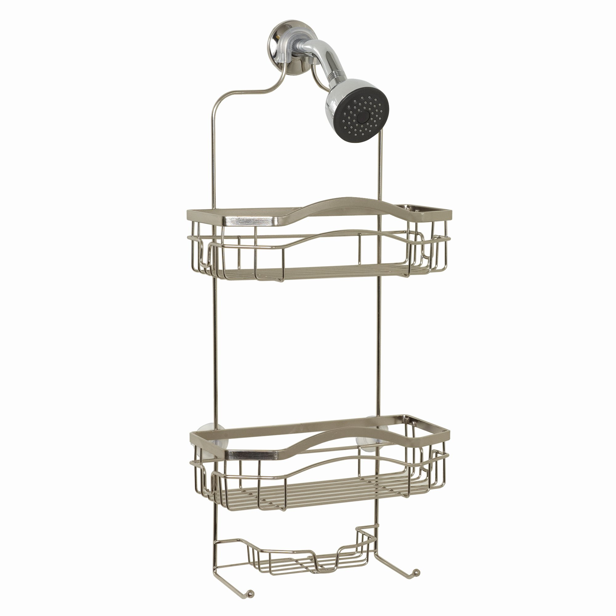 ZPC Zenith Products E7523STBB Over-The-Showerhead Caddy