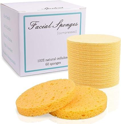 Amazon Com 60 Count Facial Sponges Compressed Face Sponge For