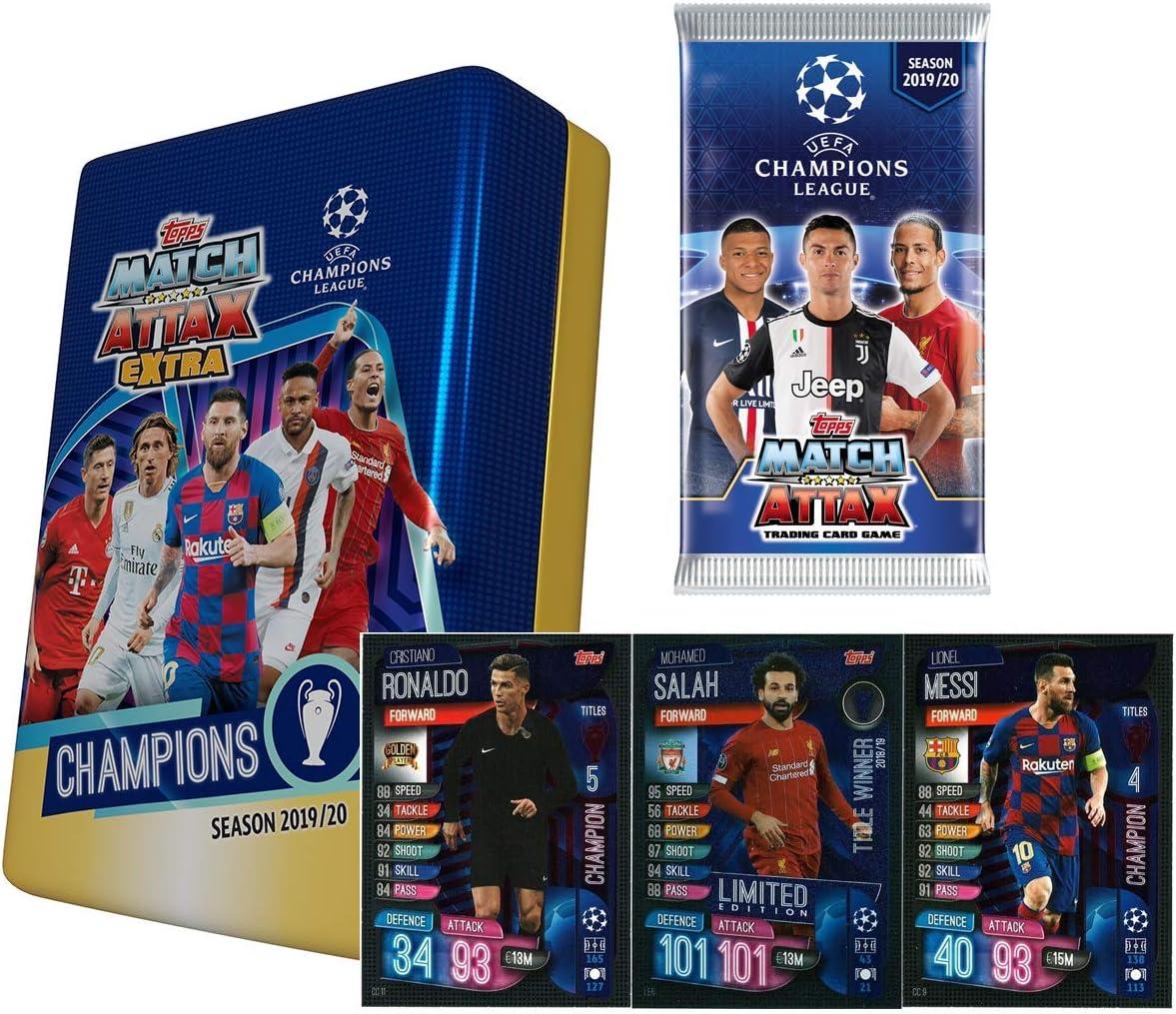 Match Attax Extra Season 2019//2020 Trading Card Box 50 Packs