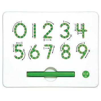 Kid O 1710347 Zahlen Magnatab 0 9 Zum Schreibenlernen Magnetisch