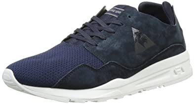 0a768fb3c902 Le Coq Sportif Unisex Adults  LCS R Pure Mono Luxe Low-Top Sneakers ...