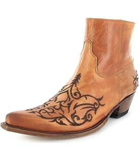 Sendra Boots 11699 Choclolate Tang Schnürstiefelette für Damen Braun Damenstiefelette, Groesse:36