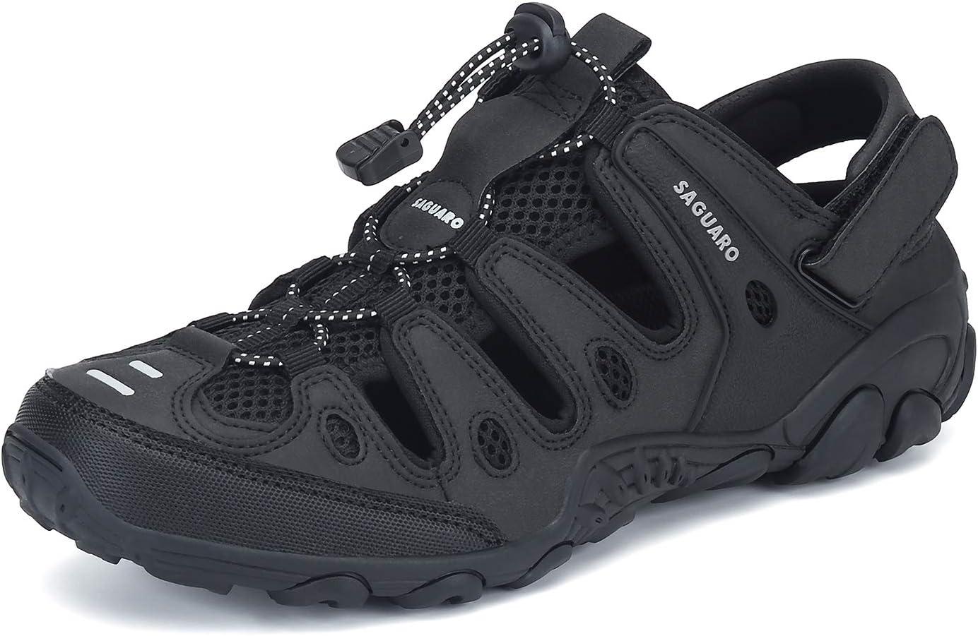 SAGUARO Mens Womens Athletic Hiking Sandal Closed Toe Outdoor Walking Water  Shoes price in UAE | Amazon UAE | kanbkam