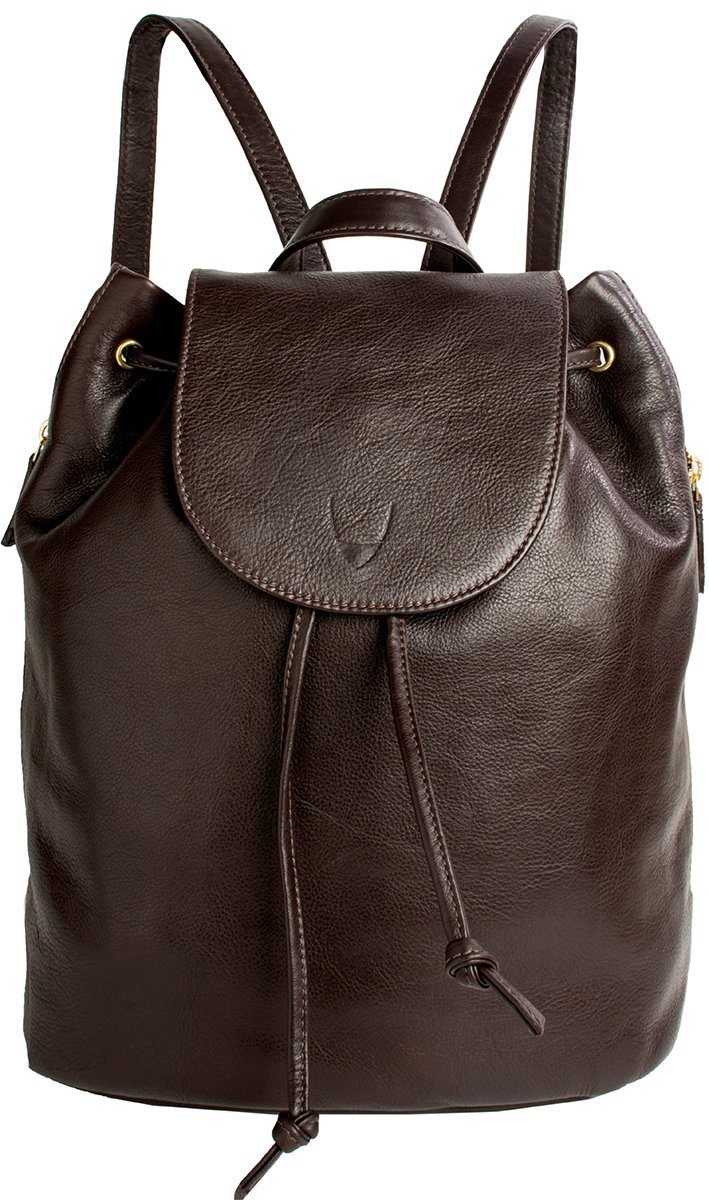 Hidesign Leah Leather Backpack (Brown) by HIDESIGN