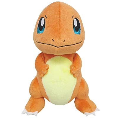 "Sanei Pokemon All Star Series PP18 Charmander Stuffed Plush, 6.5"": Toys & Games"