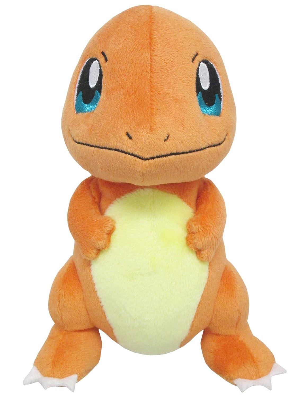 amazon com sanei pokemon all star series pp18 charmander stuffed