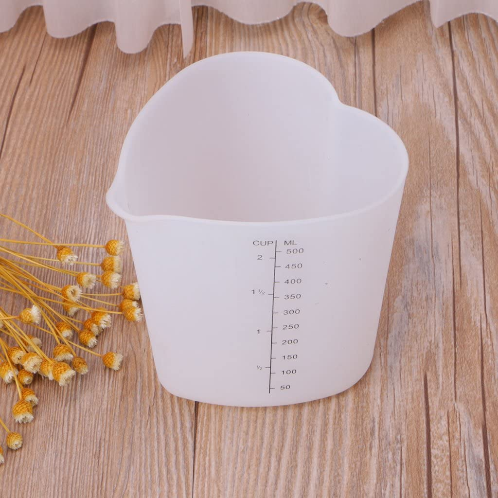 Compra Yintiod Good Grips Squeeze - Vaso medidor (Silicona, 500 ml ...