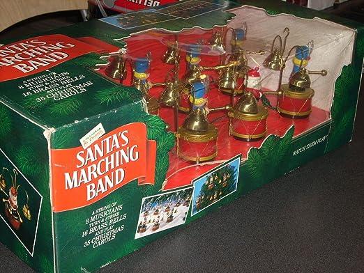 Amazon.com: Mr. Christmas Vintage SANTA'S MARCHING BAND: Home ...