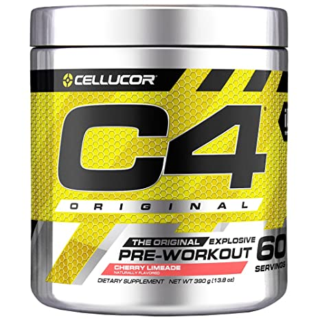 Cellucor C4 Explosive Pre-Workout Supplement, Cherry Limeade, 12.7 Ounce at amazon