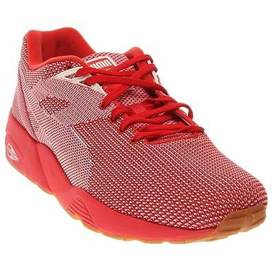 df3688d0543 Puma R698 Knit Mesh V2 Men US 7.5 Red Sneakers  Amazon.co.uk  Shoes ...