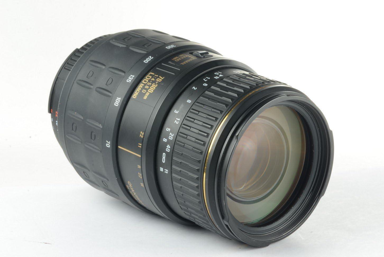 Quantaray 70 300mm F 4 5 6 Macro 1 2 Auto Focus Zoom Camera Photo
